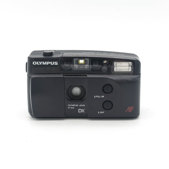 Olympus Trip AF 20 31mm fixed lens point and shoot camera