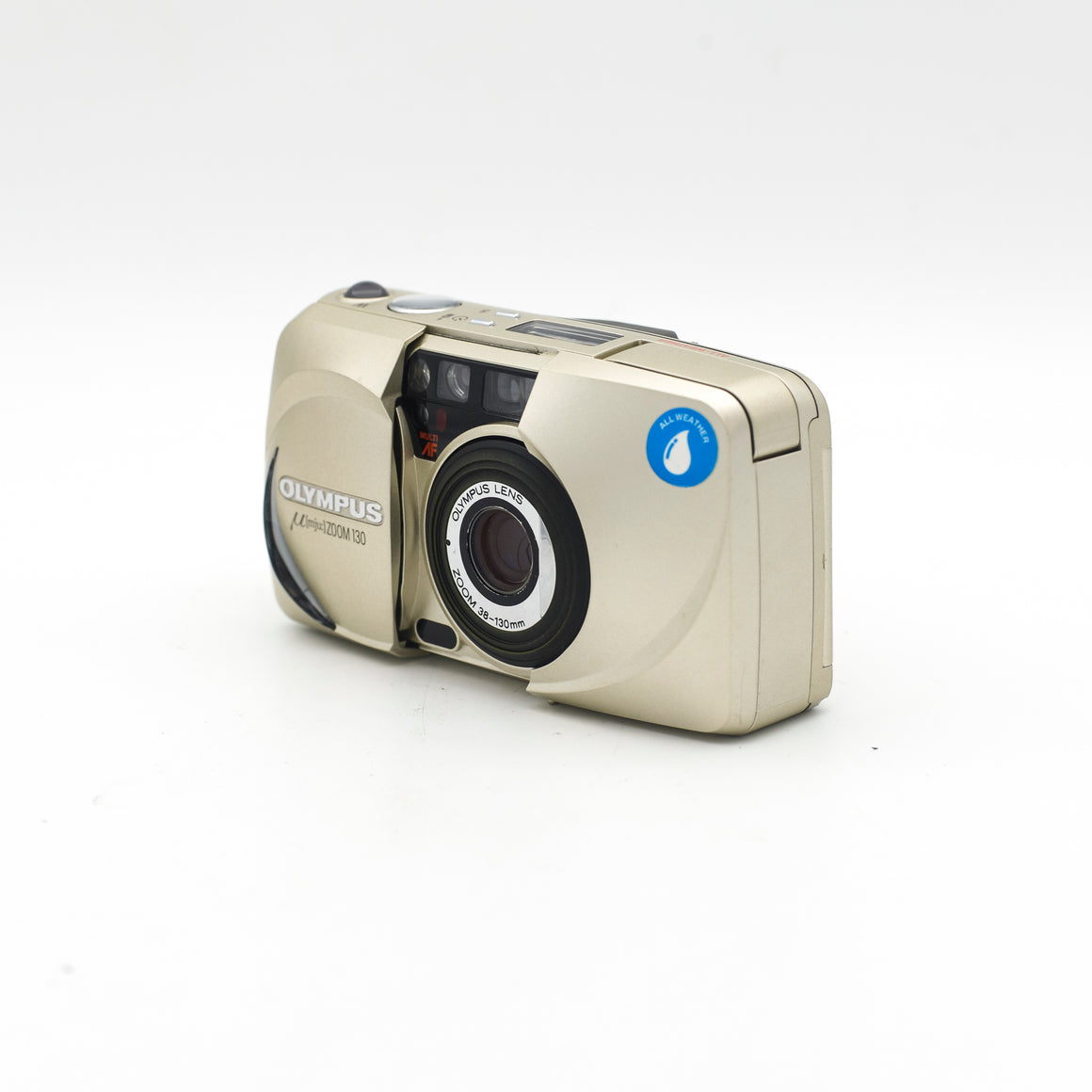 Olympus Mju Zoom 130 Point and Shoot camera