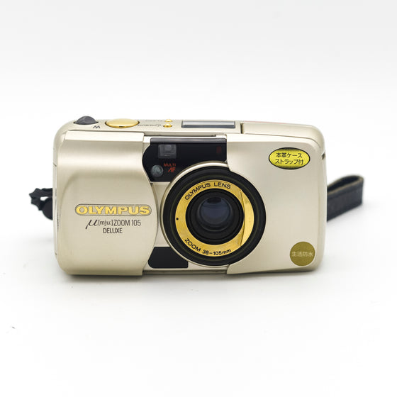 Olympus M[mju:] ZOOM 105 DELUXE Point and Shoot camera
