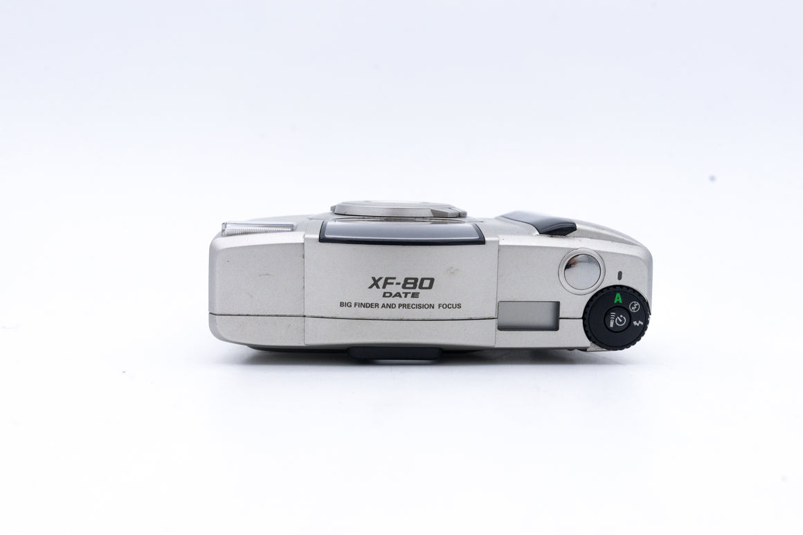 Ricoh XF 80 Autofocus 35mm film camera with 30mm Fixed Lens
