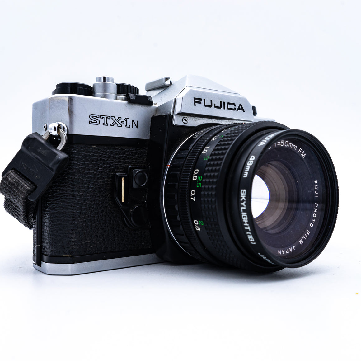 Fuji STX 1-N 35mm SLR Camera with 50mm F1.9