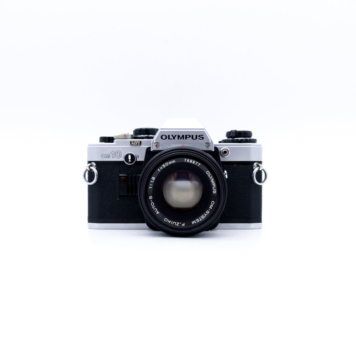 Olympus OM10 SLR Camera with Zuiko 50mm f/1.8 Lens