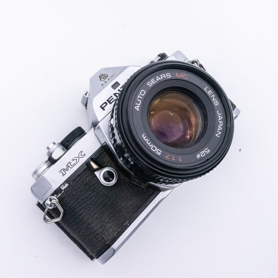 Pentax MX 35mm SLR Camera with 50mm f1.7 Lens