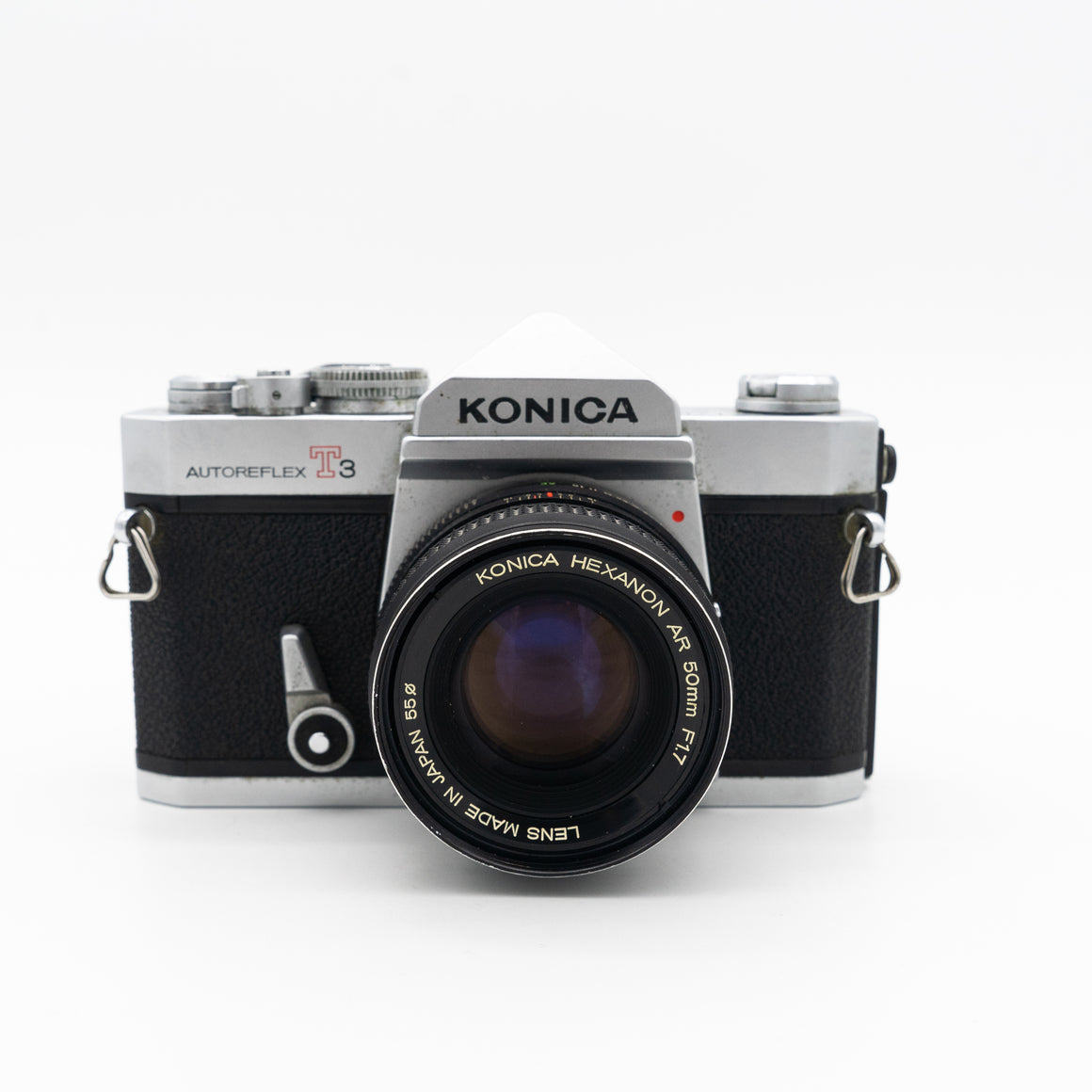 Konica Autoreflex T3 SLR Camera with 50mm f/1.7 Lens