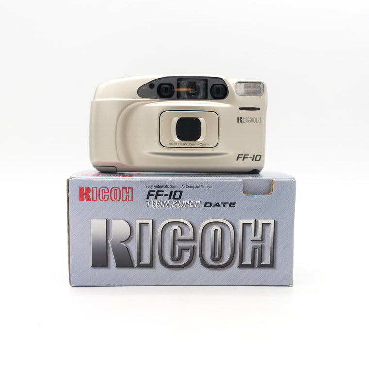 Ricoh FF-10 Twin Super Date 35mm Point and Shoot Camera (New Old Stock)