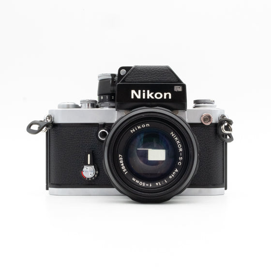 Nikon F2 SLR Camera with Nikkor 50mm f/1.4 Lens