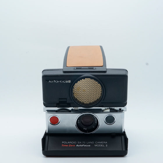 Polaroid Sx-70 Sonar instant camera with autofocus (Refurbished)