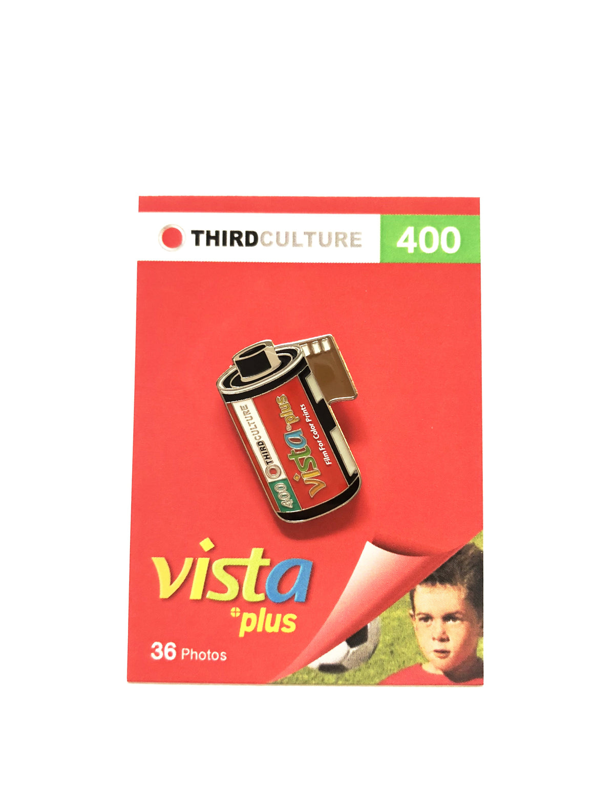 Agfa Vista 400 35mm Film Pin by Third Culture