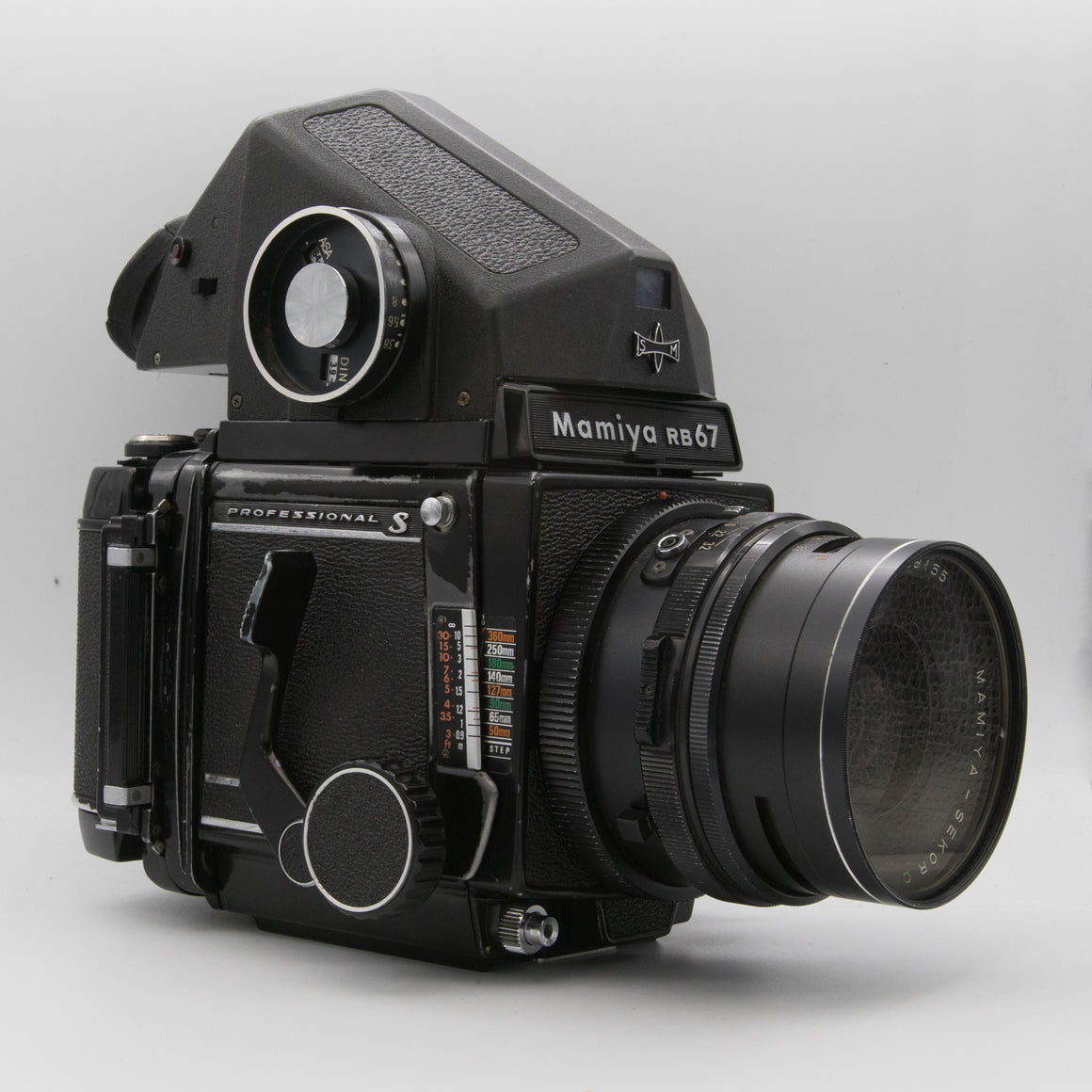 Mamiya RB67 Kit with Mamiya Seckor 90mm f/3.8 120 Medium Format Film Camera