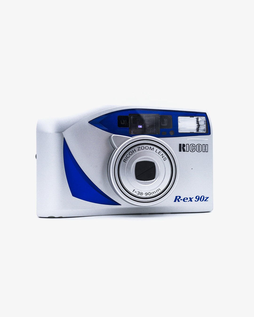 Ricoh R-Ex 90z 35mm Point and Shoot Camera w 38-90mm zoom lens (LCD Defect)