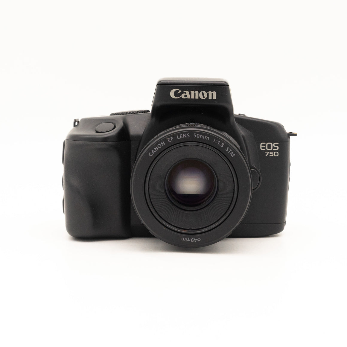 Canon EOS 750 SLR with Canon EF 50mm f/1.8 STM Lens Kit