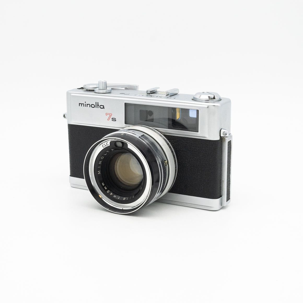 Minolta Hi-Matic 7s Rangefinder Camera with 45mm f/1.8 Lens