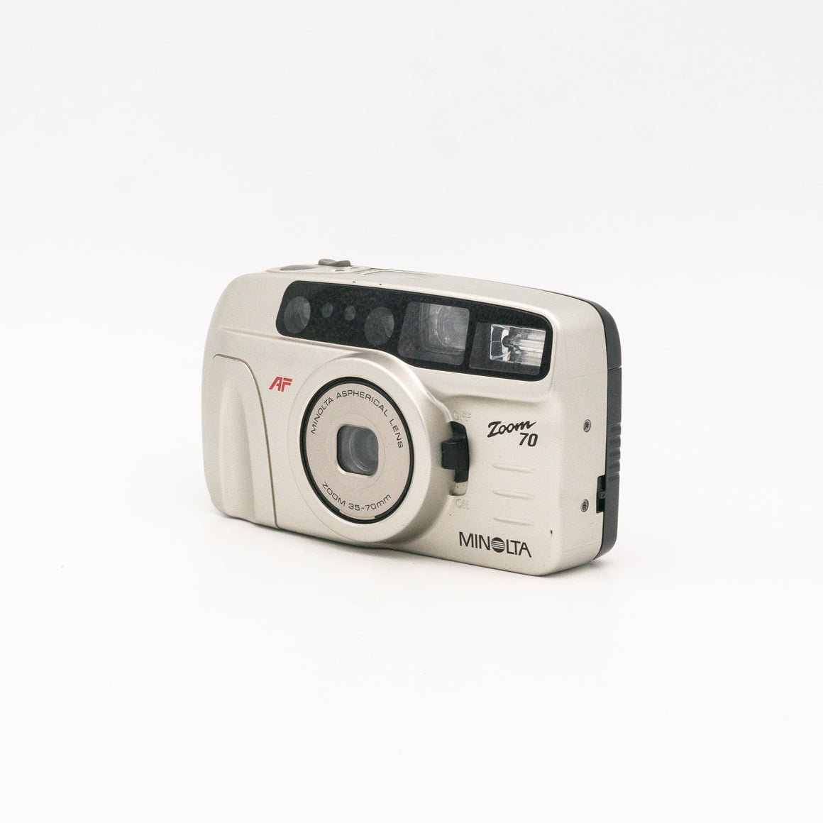 Minolta Zoom 70 Point & Shoot Camera with 35mm-70mm Zoom Lens