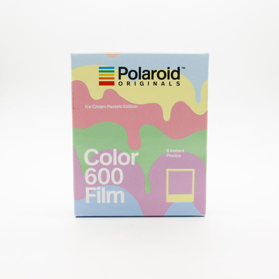 Polaroid Originals - Color Film for 600 Ice Cream Pastels Edition