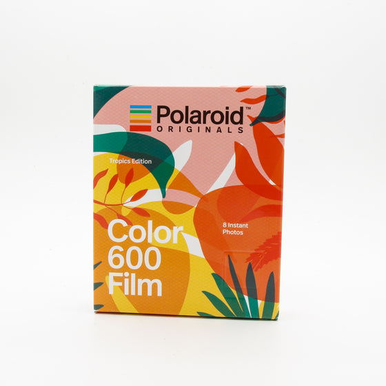 Polaroid Originals - 600 Color Film with Tropical Frames