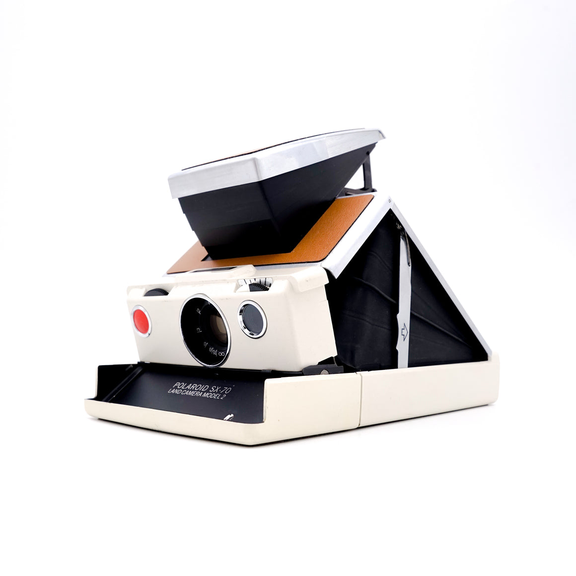 Polaroid SX-70 Land Camera Model 2 (Beige) Instant Camera