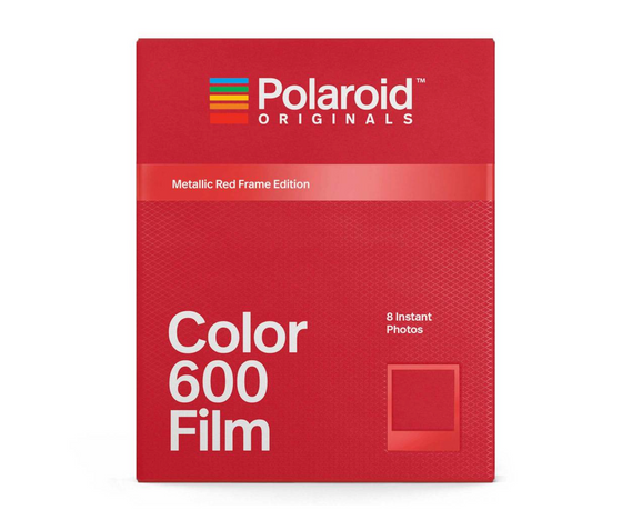 Polaroid Originals - Color 600 Films with Metallic Red Frame Edition