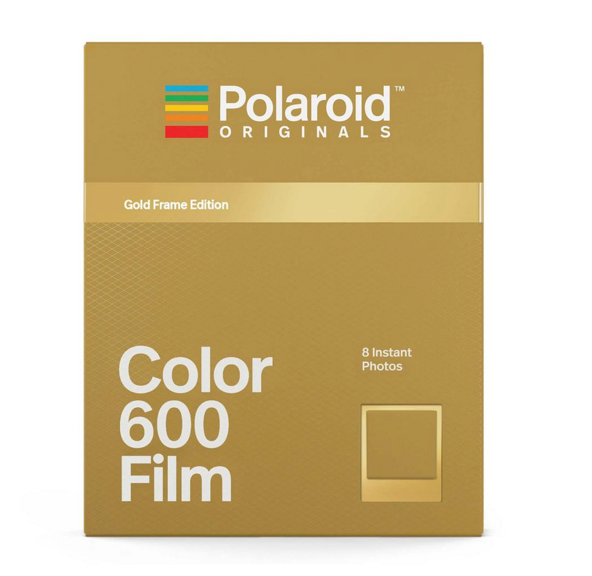 Polaroid Originals - Color 600 Films with Gold Frame Edition