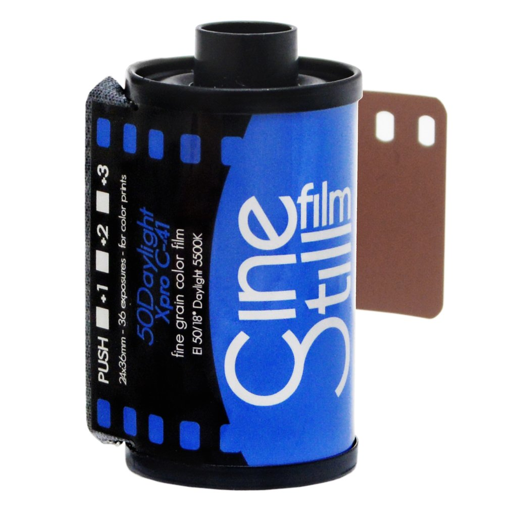 Cinestill 50 Daylight Xpro C-41 Color Negative Film (35mm Roll Film, 36 Exposures)