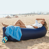 Inflatable Lounger Air Sofa Portable & Water Proof Design-Ideal Couch