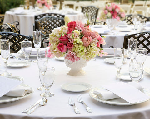 Special Note: we can offer large king table cloths. Please inquire and have table sizes ready for quotation.