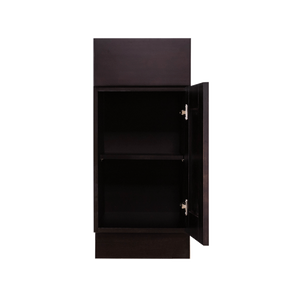 Anchester Espresso Base Cabinet 1 Drawer 1 Door 1 Adjustable Shelf
