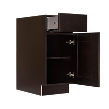 Load image into Gallery viewer, Anchester Espresso Base Cabinet 1 Drawer 1 Door 1 Adjustable Shelf