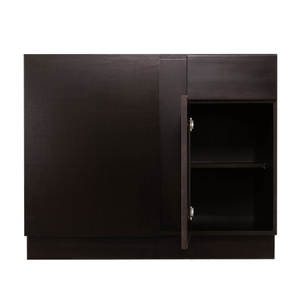 Anchester Espresso Base Blind Corner Cabinet 1 Drawer 1 Door