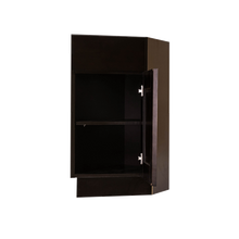 Load image into Gallery viewer, Anchester Espresso Base End Angle Cabinet 1 Fake Drawer 1 Door Adjustable Shelf (Right)