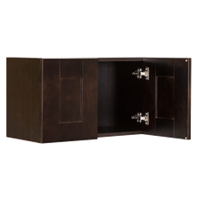 Load image into Gallery viewer, Anchester Espresso Wall Cabinet 2 Doors No Shelf
