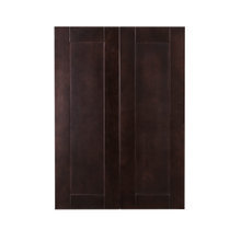 Load image into Gallery viewer, Anchester Espresso Wall Cabinet 2 Doors 3 Adjustable Shelves