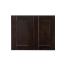 Load image into Gallery viewer, Anchester Espresso Wall Cabinet 2 Doors 1 Adjustable Shelf