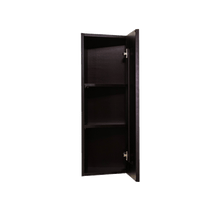 Load image into Gallery viewer, Anchester Espresso Wall End Angle Cabinet 1 Door 2 or 3 Shelves