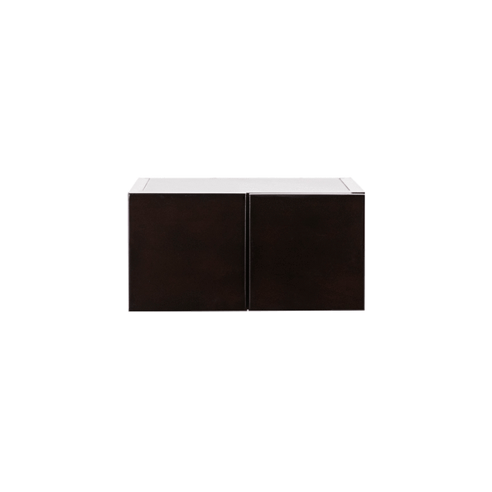 Anchester Espresso Wall Small Drawer Cabnet 2 Drawers