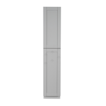 Load image into Gallery viewer, Anchester Gray Tall Pantry 1 Upper Door and 1 Lower Door