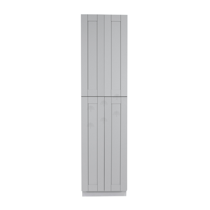 Anchester Gray Tall Pantry 2 Upper Doors and 2 Lower Doors