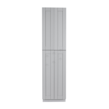 Load image into Gallery viewer, Anchester Gray Tall Pantry 2 Upper Doors and 2 Lower Doors