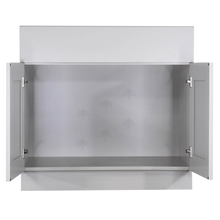 Load image into Gallery viewer, Anchester Gray Sink Base Cabinet 2 Dummy Drawer 2 Doors