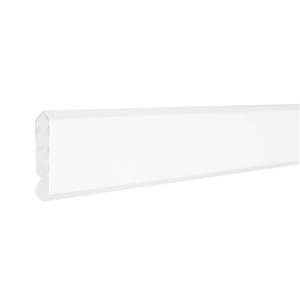 Anchester White Moldings Angled Crown Molding