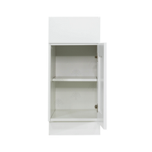 Load image into Gallery viewer, Anchester White Base Cabinet 1 Drawer 1 Door 1 Adjustable Shelf