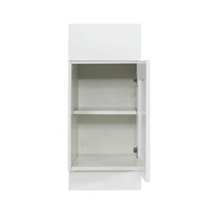 Anchester White Base Cabinet 1 Drawer 1 Door 1 Adjustable Shelf