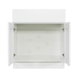 Anchester White Vanity Sink Base Cabinet 1 Dummy Drawer 2 Doors