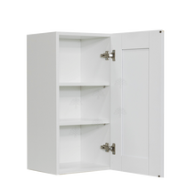 Load image into Gallery viewer, Anchester White Wall Cabinet 1 Door 2 Adjustable Shelves