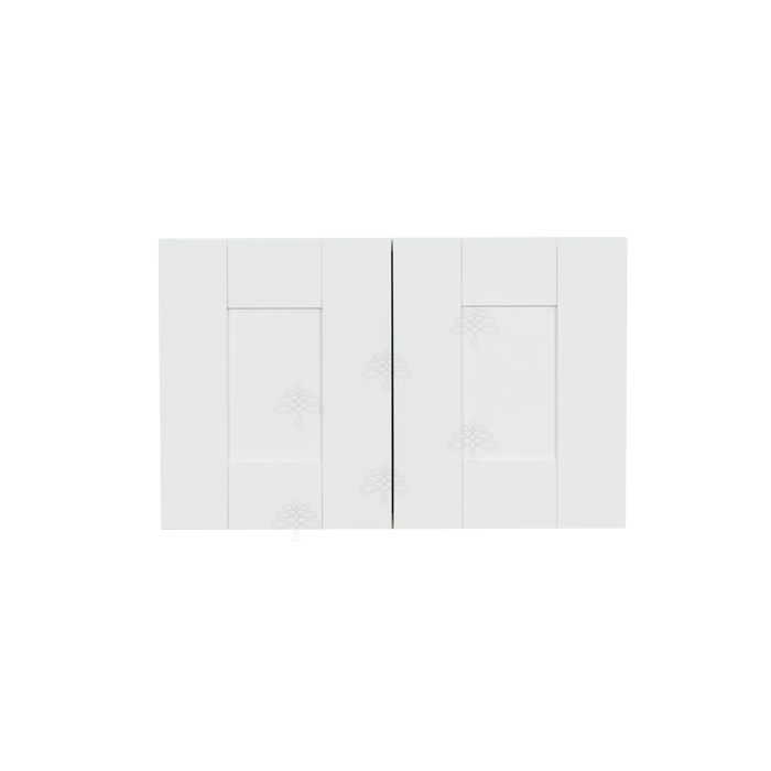 Anchester White Wall Cabinet 2 Doors No Shelf