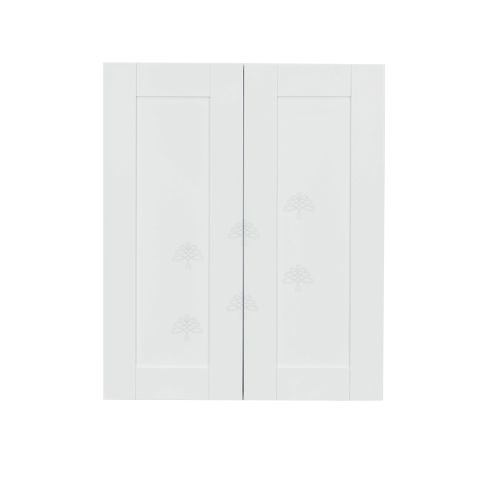 Anchester White Wall Cabinet 2 Doors 2 Adjustable Shelves