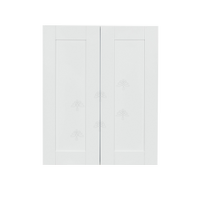 Load image into Gallery viewer, Anchester White Wall Cabinet 2 Doors 2 Adjustable Shelves