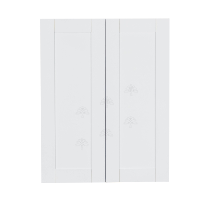 Anchester White Wall Cabinet 2 Doors 3 Adjustable Shelves