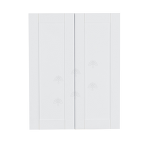 Load image into Gallery viewer, Anchester White Wall Cabinet 2 Doors 3 Adjustable Shelves