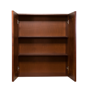 Cambridge Wall Cabinet 2 Doors 2 Adjustable Shelves