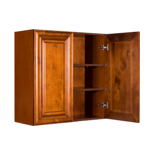 Cambridge Wall Cabinet 2 Doors 2 Adjustable Shelves With 30-inch Height